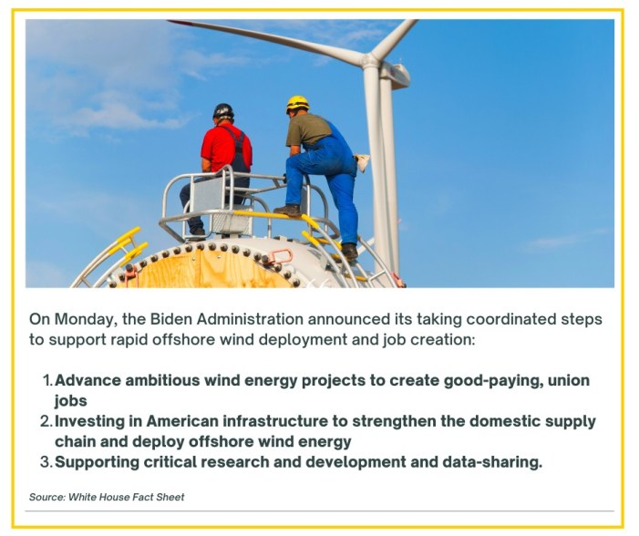 Climate Jobs NY Update: Biden Administration Launches Offshore Wind