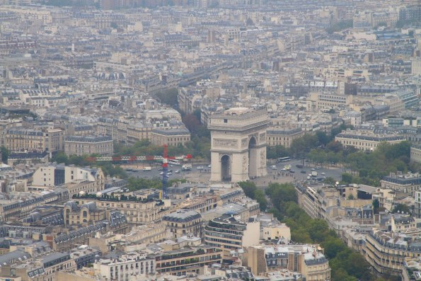 From top of Eiffel Tower
