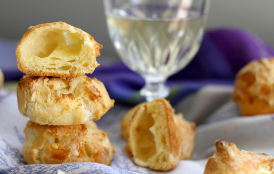 Who else wants gougères inspired by Burgundy?