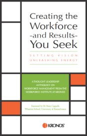 Creating the Workforce book