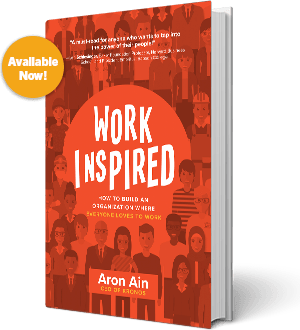 Aron Ain Explains How to Work Inspired