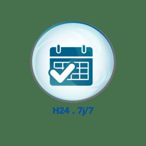 Bureaux ouverts H24