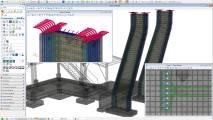 Modellierung von Stahlbetonelementen