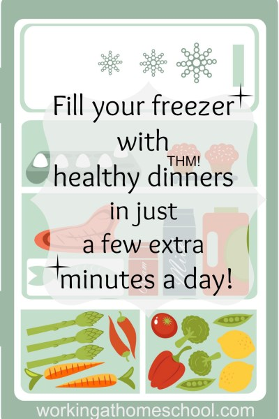 Fill your freezer without a major cooking session! Healthy THM Freezer Meals