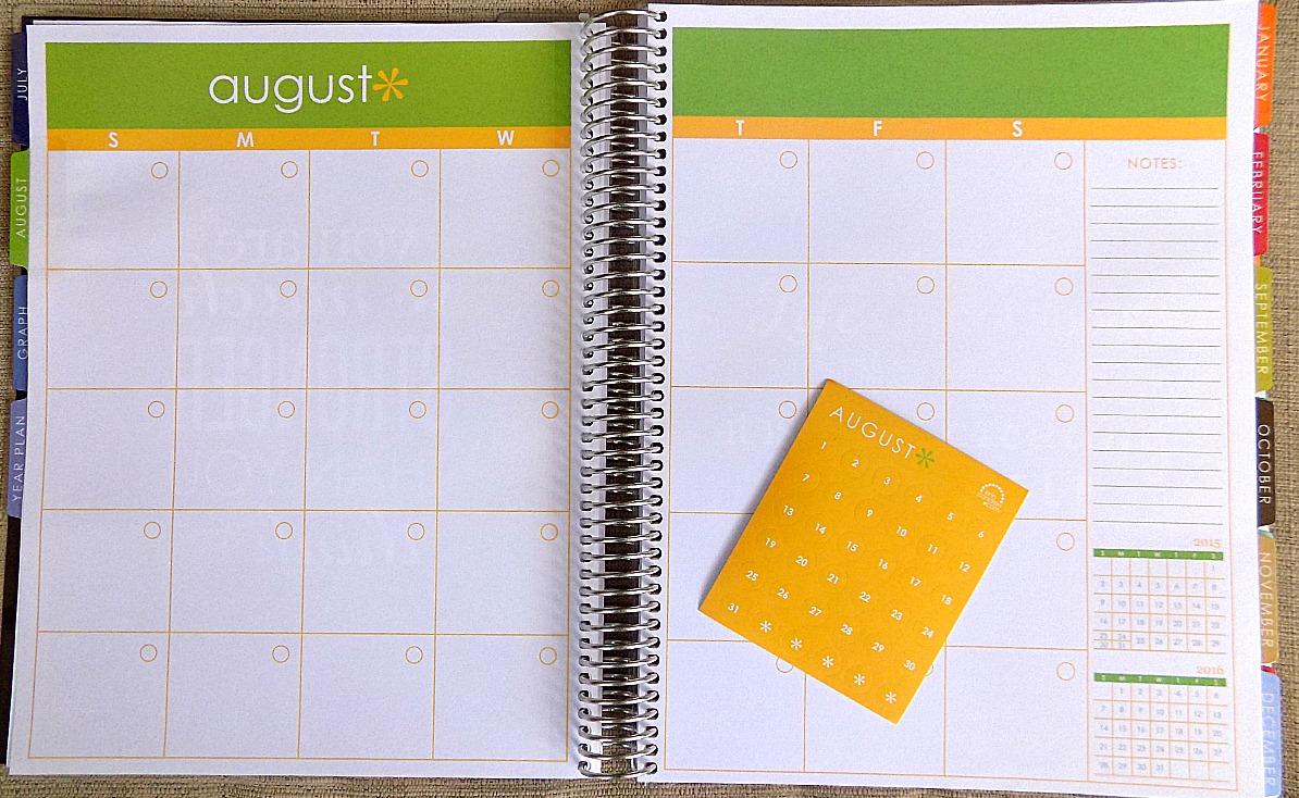 Month & Date Dots