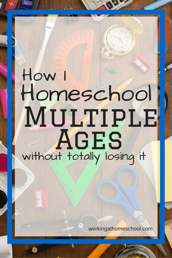 What a one-room schoolhouse at home really looks like - it can be done!