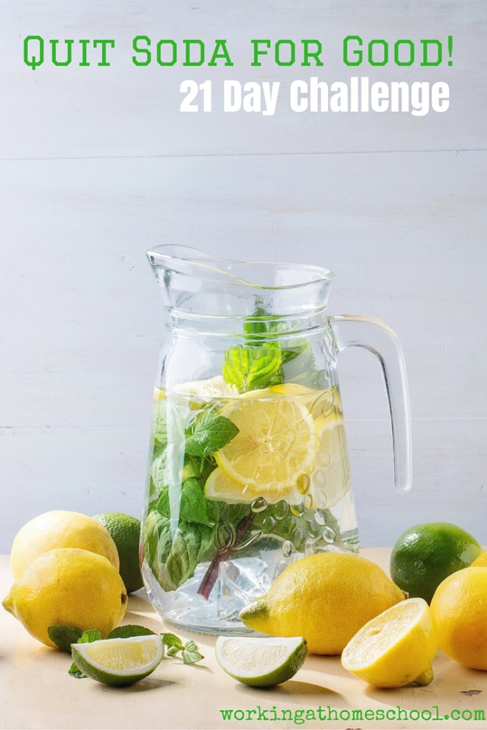 Quit Soda for Good! Free 21 Day Challenge
