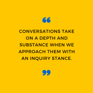 4 steps to deeper conversation