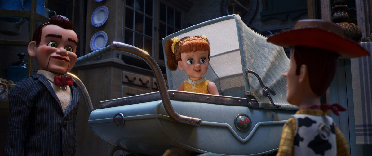 Gabby Gabby in Toy Story 4 (2019).