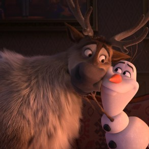 "Sven and Olaf in ""Frozen 2""."