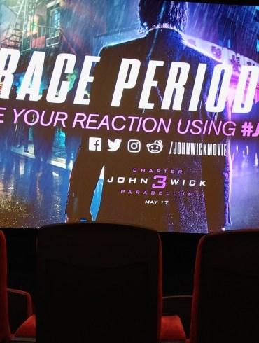 John Wick 3 - Parabellum screening