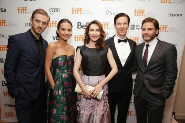Dan Stevens, Alicia Vikander, Carice van Houten, Benedict Cumberbatch and Daniel Bruhl