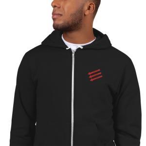 3 arrows hoodie mockup