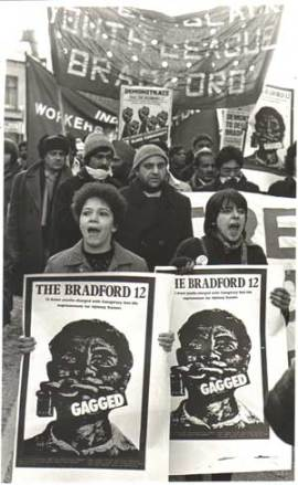 Demonstration to free the Bradford 12