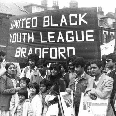 United Black Youth League protest