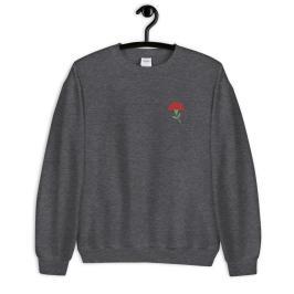 embroidered sweatshirt mockup