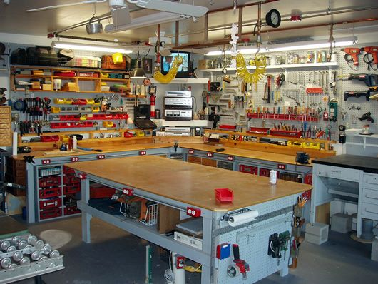 The Ultimate DIY Workshop in Your Garage