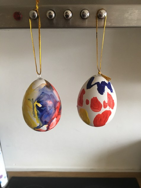 Easter Crafts - Painted Eggs