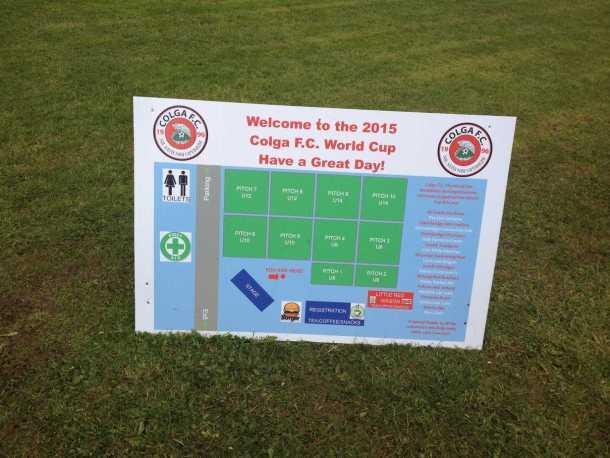 ColgaFC World cup Kilcolgan