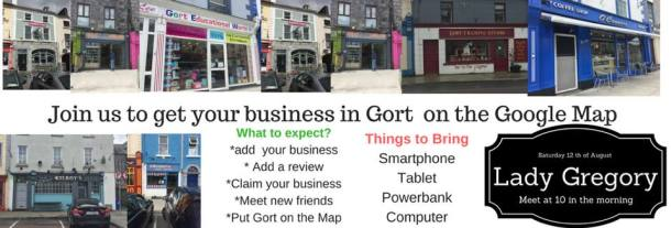 Get Gort on the Google Map