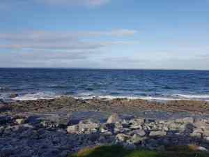 Walking the Flaggy Shore