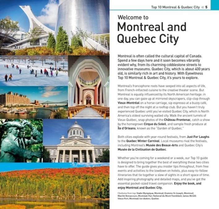 City Travel Brochure Quebec