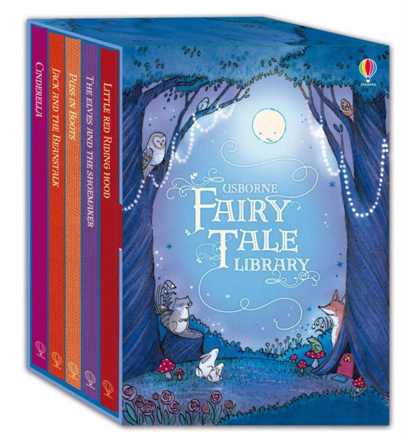 Fairy Tale Library- Unforgettable 5 Beautifully Illustrated Hardback Book