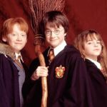 Harry Potter, Hermine and Ron