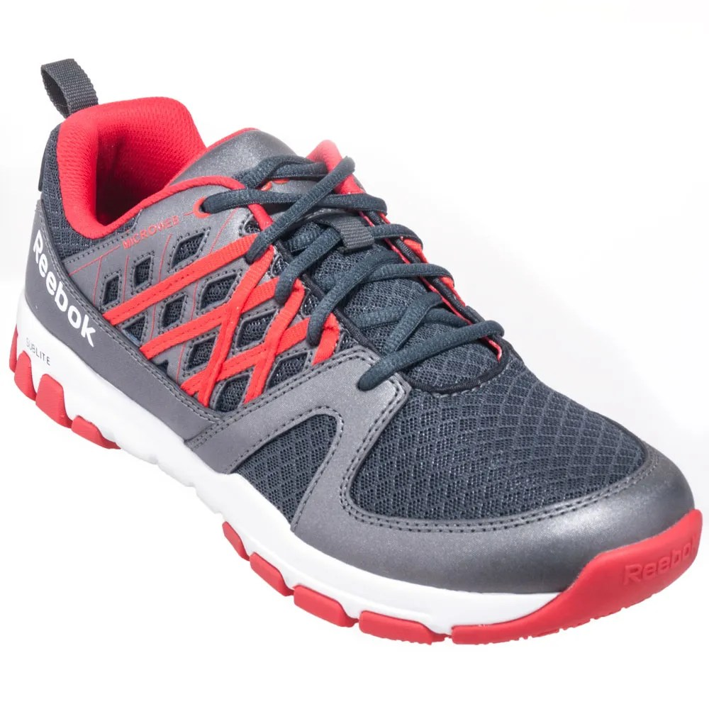 d4db4d7b1035 Reebok Shoes  Men s RB4005 Steel Toe EH Grey Sublite Athletic Work Shoes