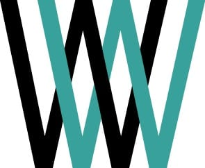 Working Well Solutions logo of two capital W's overlaid in black and turquoise