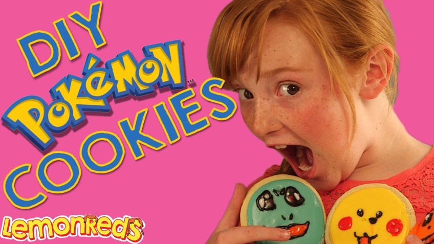 DIY Pokemon Go Cookies!
