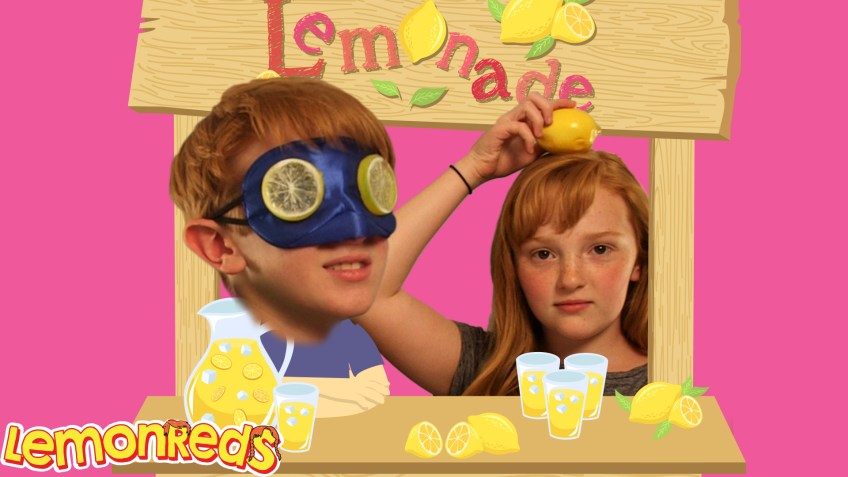 Lemonade Stand battle KIDS vs DAD