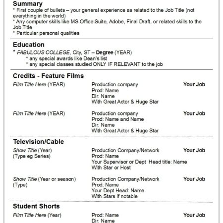 Resumes Robyn Coburn Resume Review
