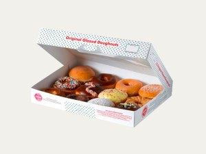 Custom printed Donut Boxes wholesale