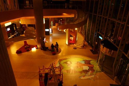 ノボテル台湾 2階からの眺め