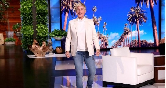 ELLEN DEGENERES ADDRESSES 'TOXIC WORK ENVIRONMENT'