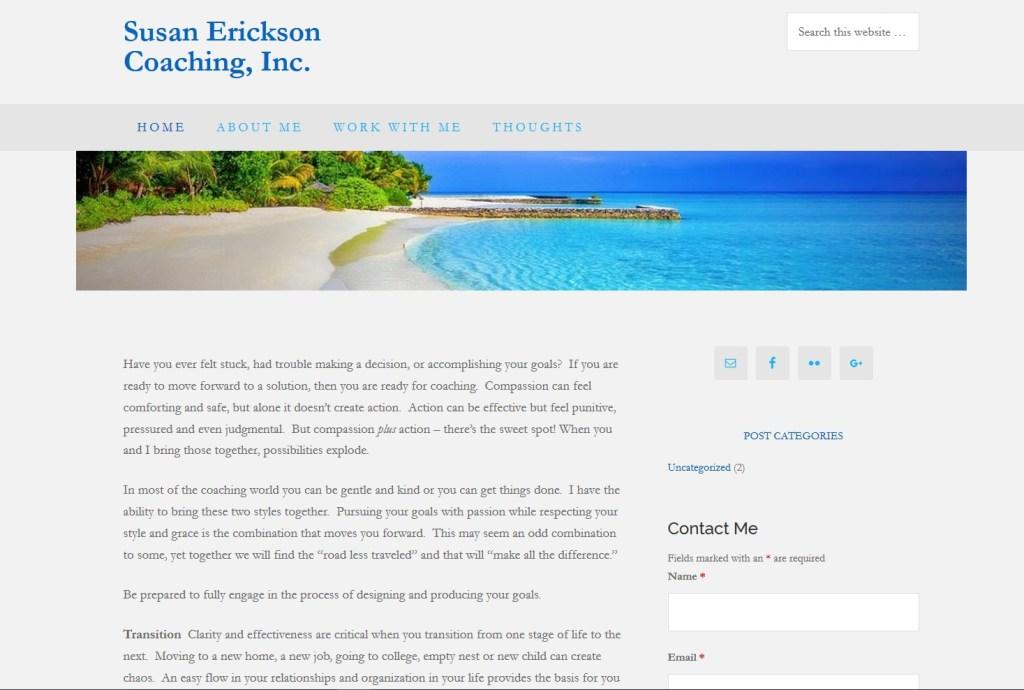 Susan Erickson Coaching