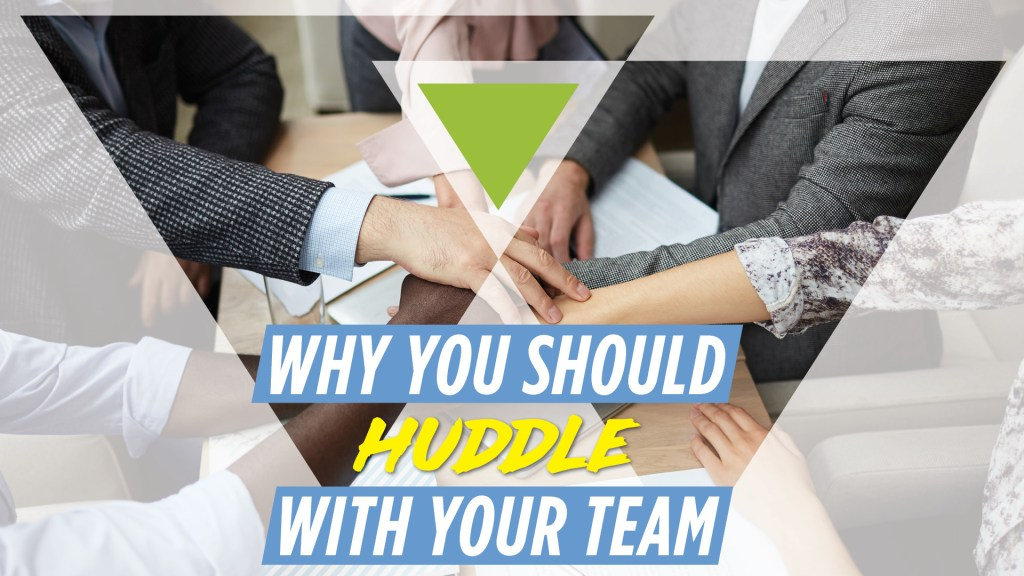 Real Estate Team Huddles