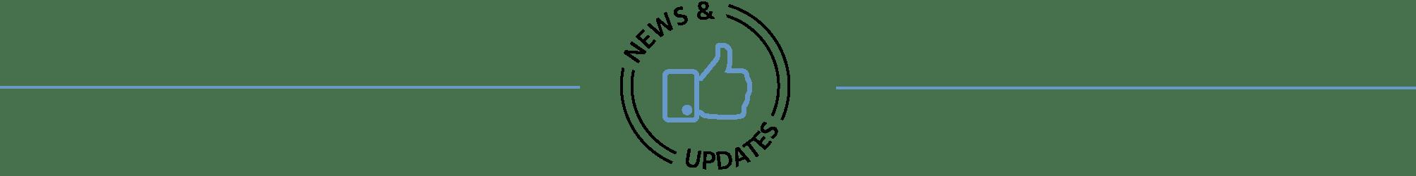 news updates horizontal rule