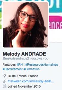 Profil Statique Twitter