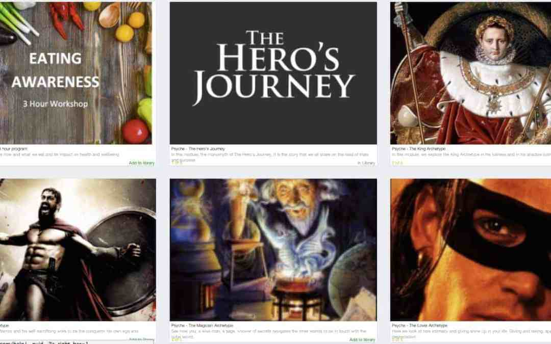 The Hero's Journey of the King, Magician, Warrior & Lover