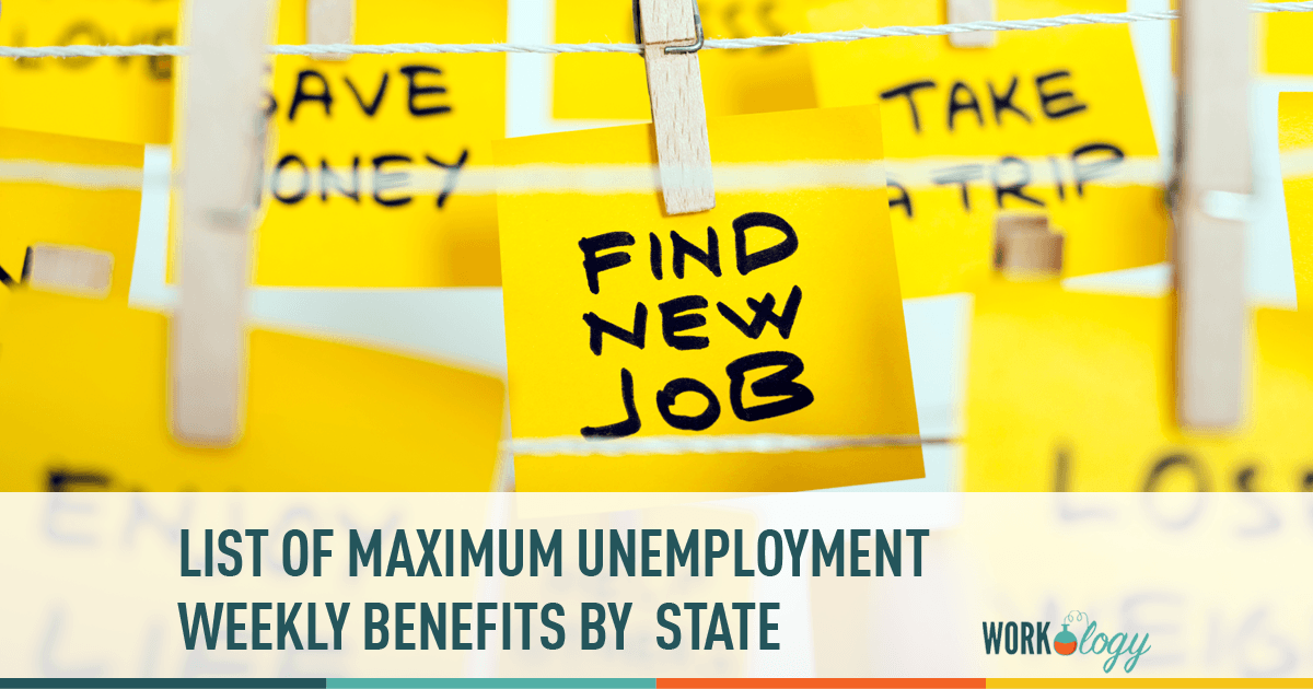 The Maximum Weekly Benefit Amount in Unemployment Insurance