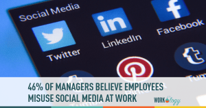 social media at work, workplace social media, employee use of social media