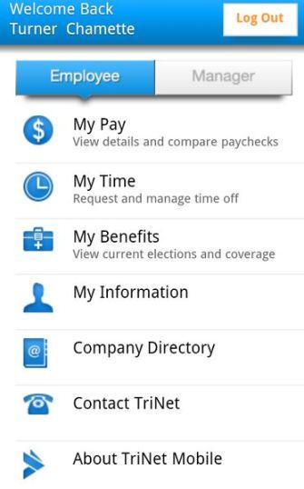TriNet Mobile App 4JPG