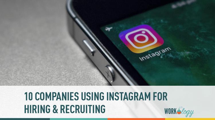 instagram, hiring, recruiting, companies