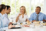 manner monday: business luncheons