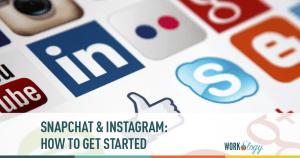 snapchat, instagram, social media, social media recruiting