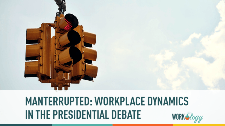 manterrupted workplace dynamics in the presidential debate