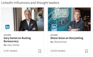 linkedin, learning, social media