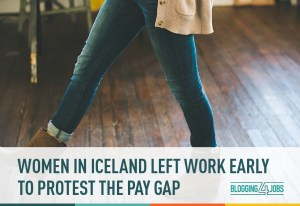 Women in Iceland Left Work Early to Protest the Pay Gap